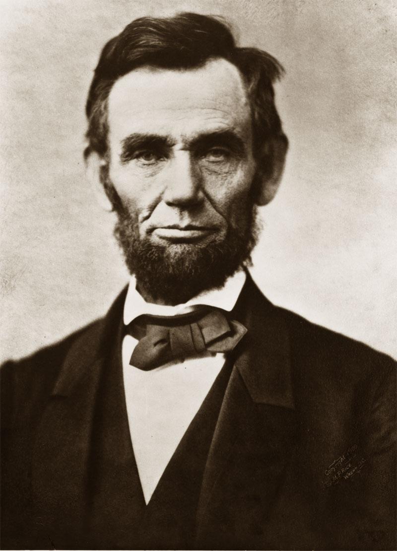 Foto di Abraham Lincoln