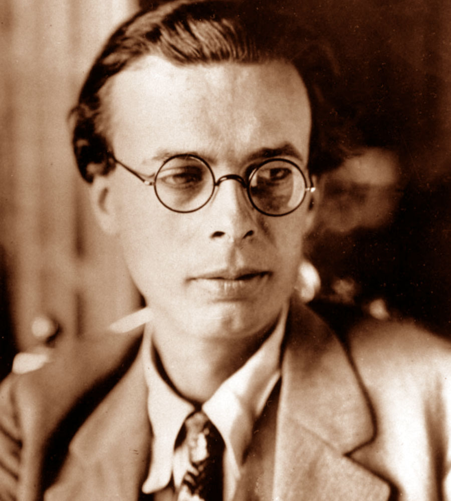 aldous huxley biography essay