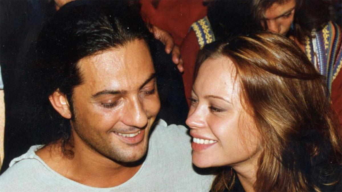 Anna Falchi con Fiorello