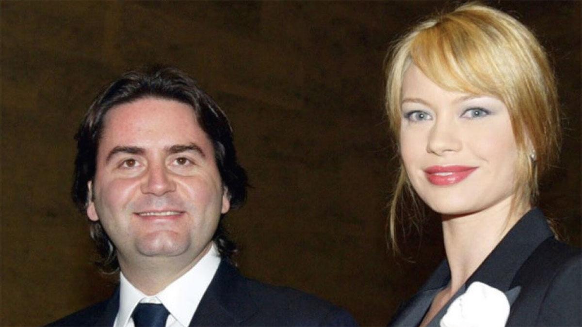 Anna Falchi con Stefano Ricucci