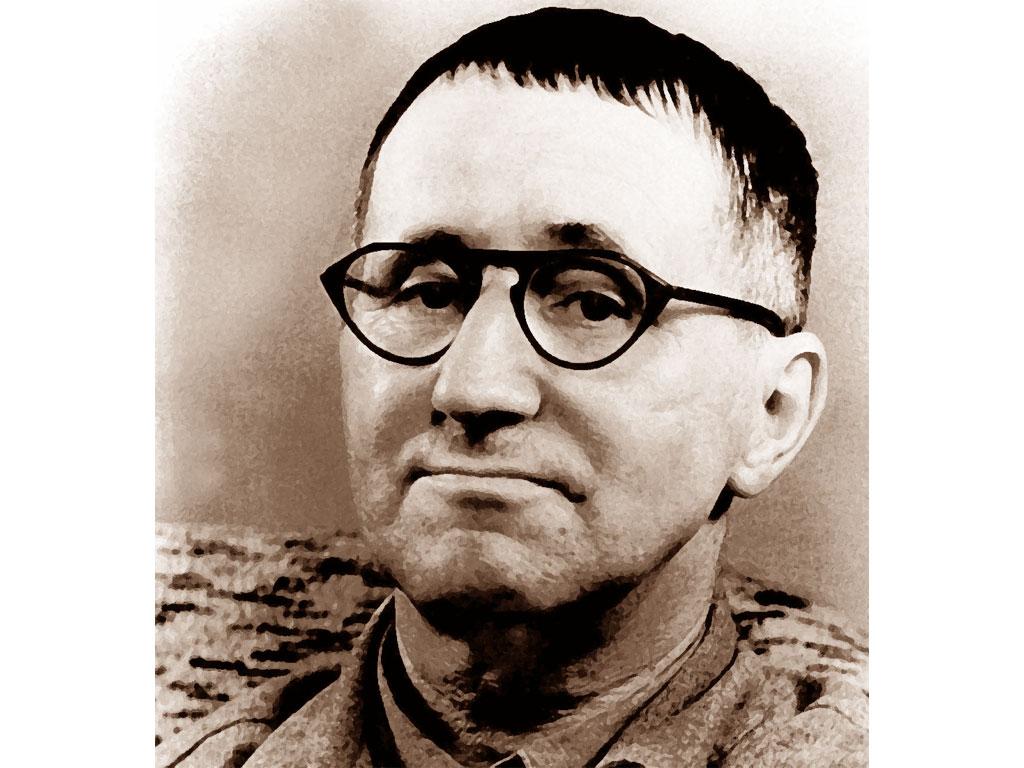 Foto di Bertolt Brecht
