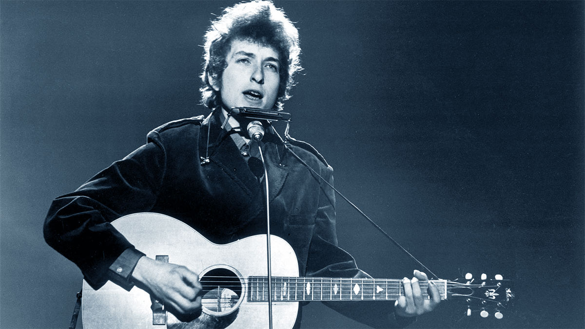 Bob Dylan giovane
