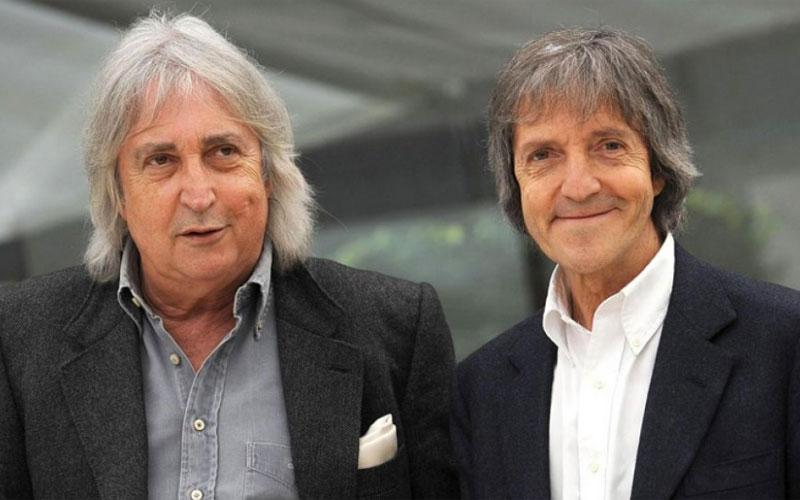 Carlo Vanzina con il fratello Enrico Vanzina