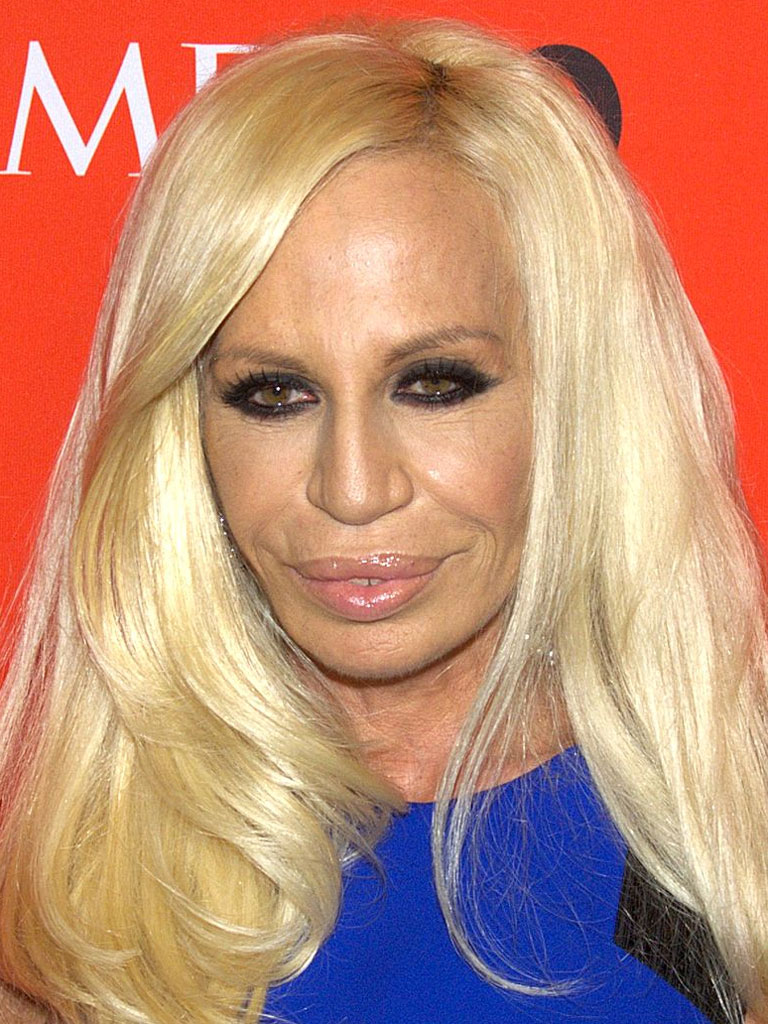 "Donatella Versace: ""If You Want to be Comfortable, Stay at Home in Your Pajamas"""