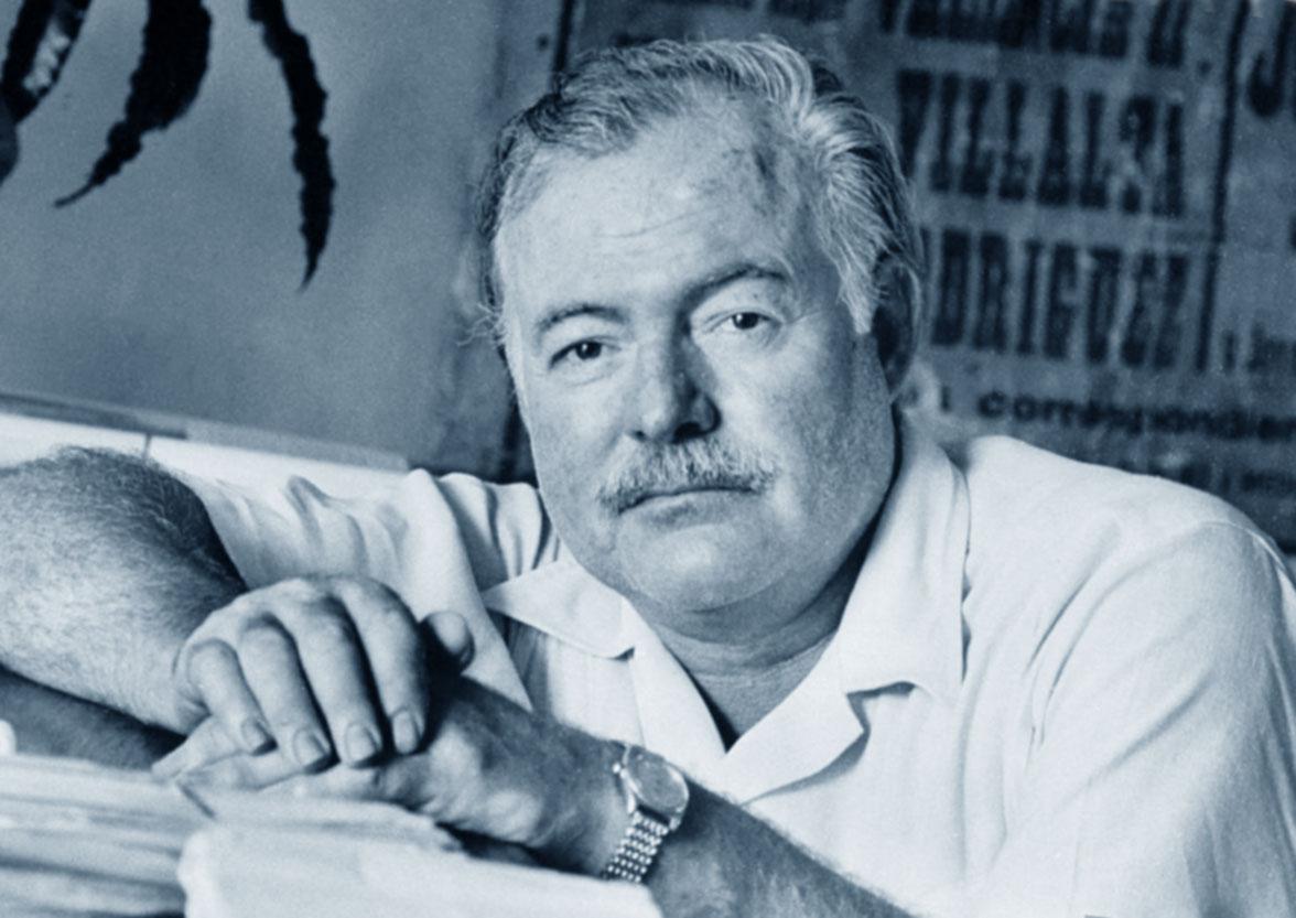 Foto di Ernest Hemingway