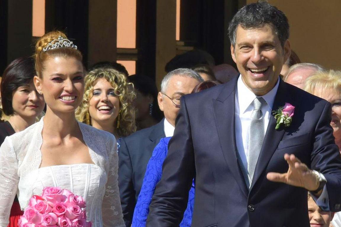 Fabrizio Frizzi con Carlotta Mantovan