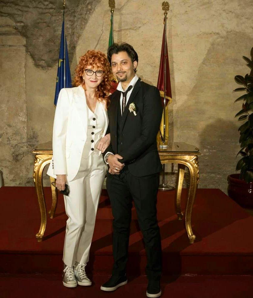Fiorella Mannoia con Carlo Di Francesco