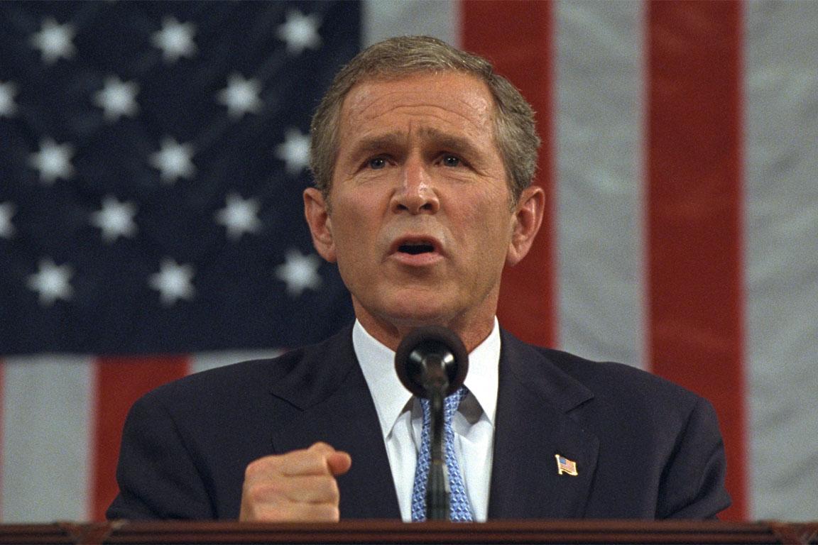 Bush e l'ambasciatore iracheno