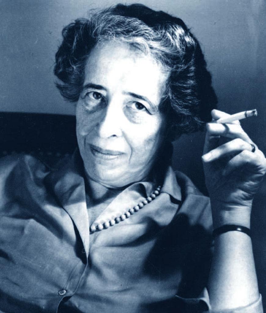 Foto di Hannah Arendt