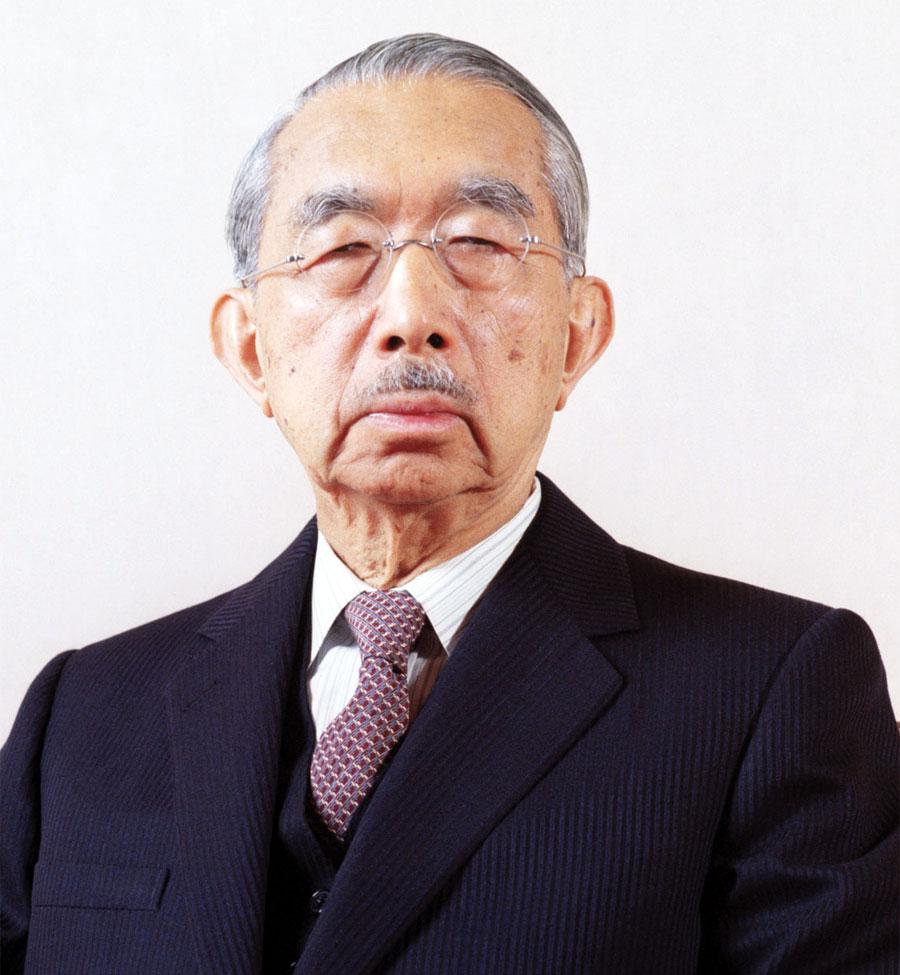 L'imperatore del Giappone Hirohito