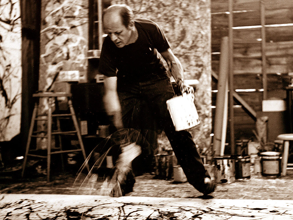 Jackson Pollock e l'Action Painting