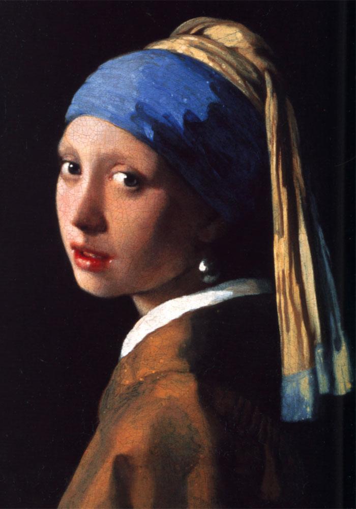 Jan Vermeer: Ragazza con l'orecchino di perla (1665)