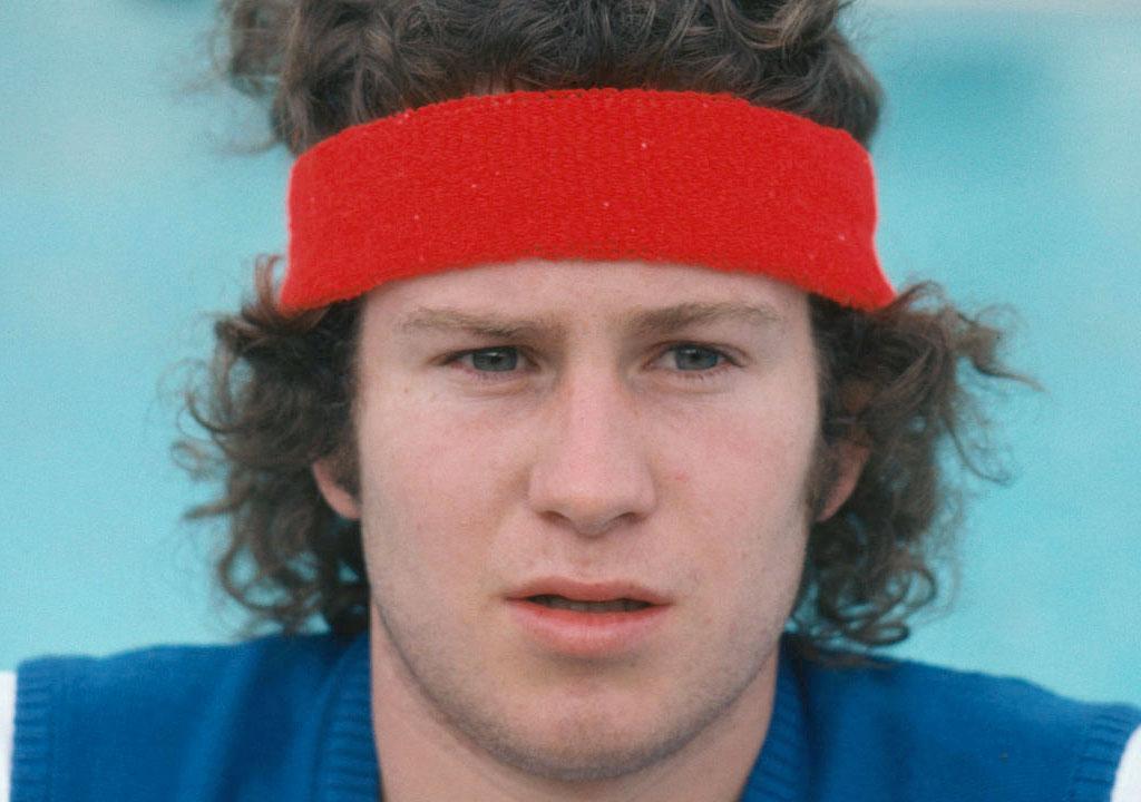 John McEnroe giovane