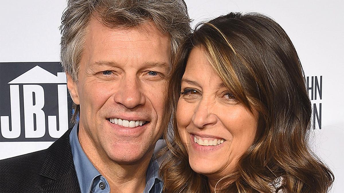 Jon Bon Jovi con la moglie Dorothea Hurley