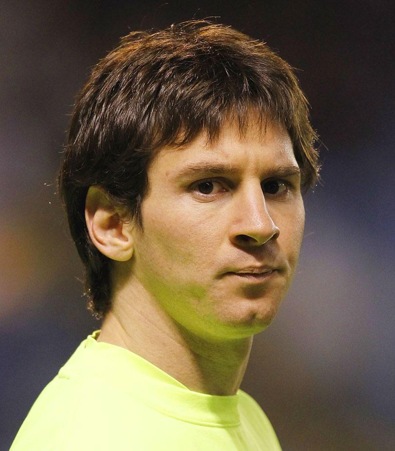 Lionel Messi giovane