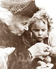 Foto di Maria Montessori