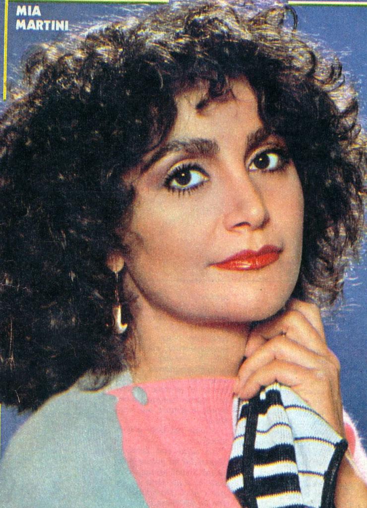 Italian singer Mia Martini (RIP)