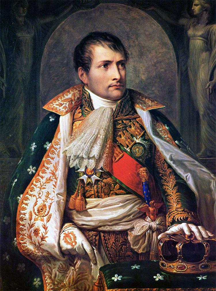 Un ritratto di Napoleone