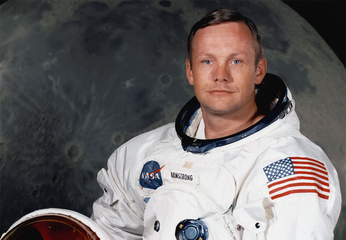 how tall is neil armstrong