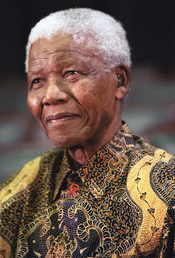 Nelson Mandela Negare Alle Persone I Loro Diritti Umani è