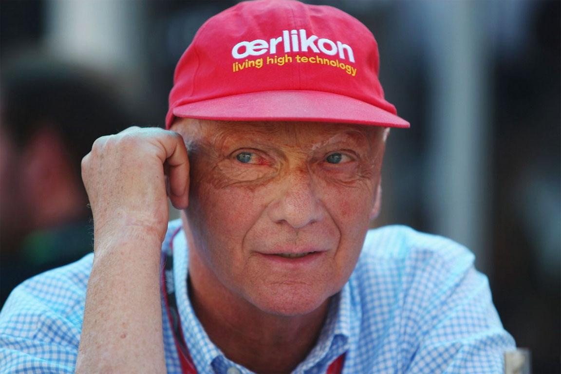 Niki Lauda cerca un bravo meccanico