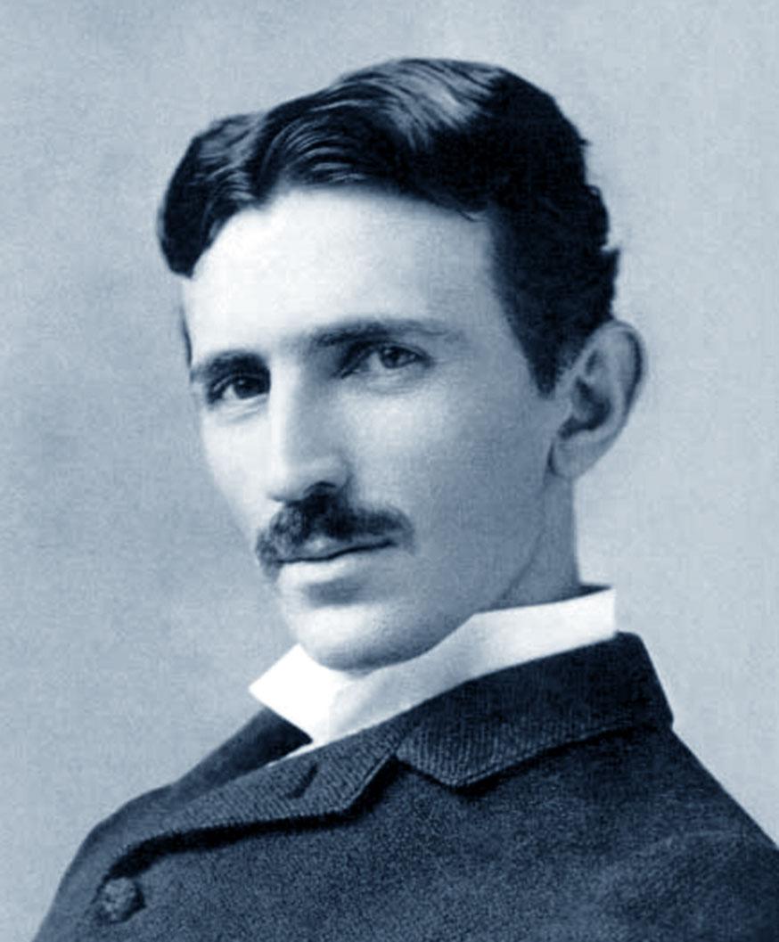Foto di Nikola Tesla