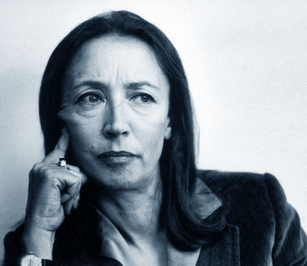 Foto di Oriana Fallaci
