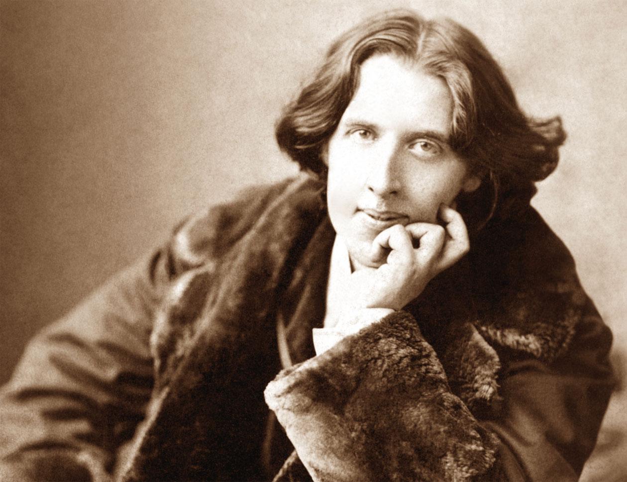 Una foto di Oscar Wilde