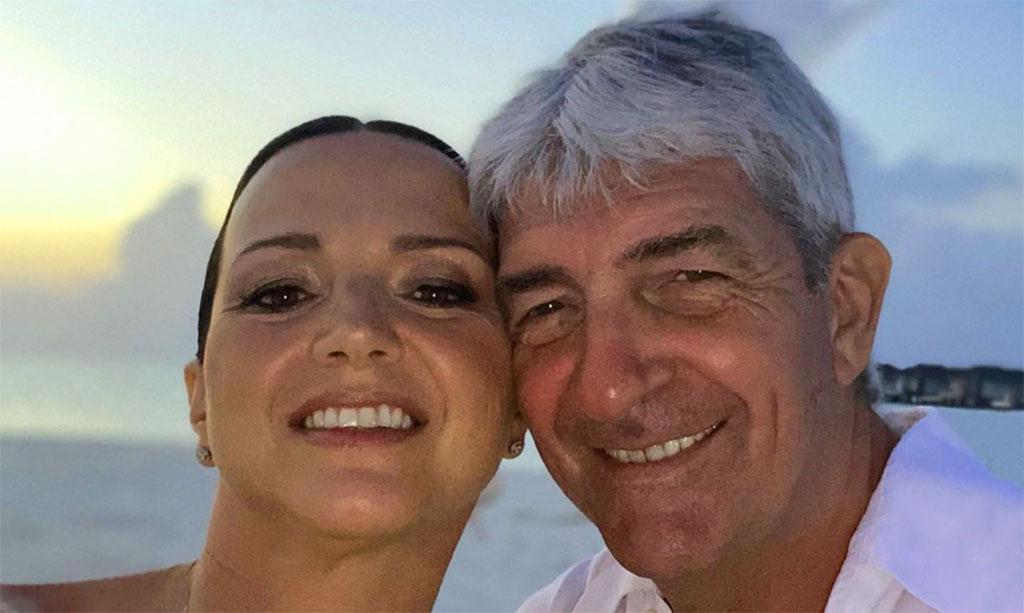 Paolo Rossi con la moglie Federica