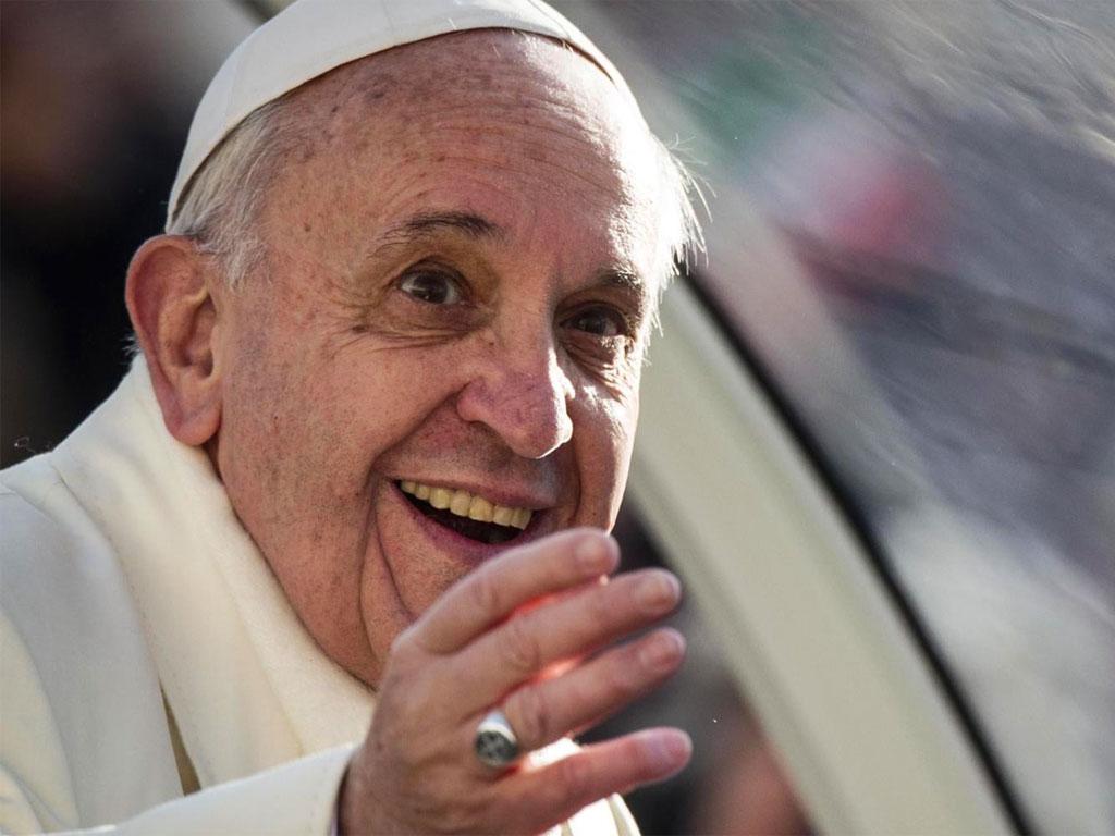 Risultati immagini per fotos del papa francesco