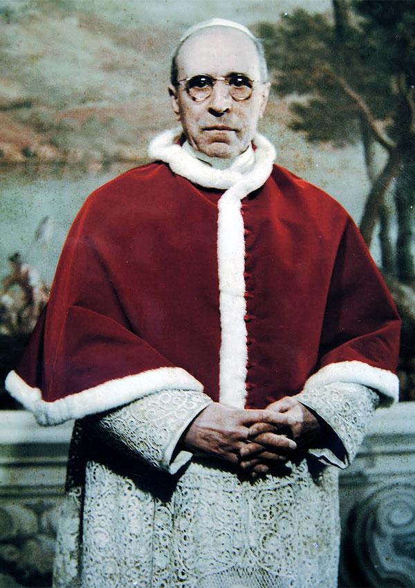 Foto di Papa Pio XII