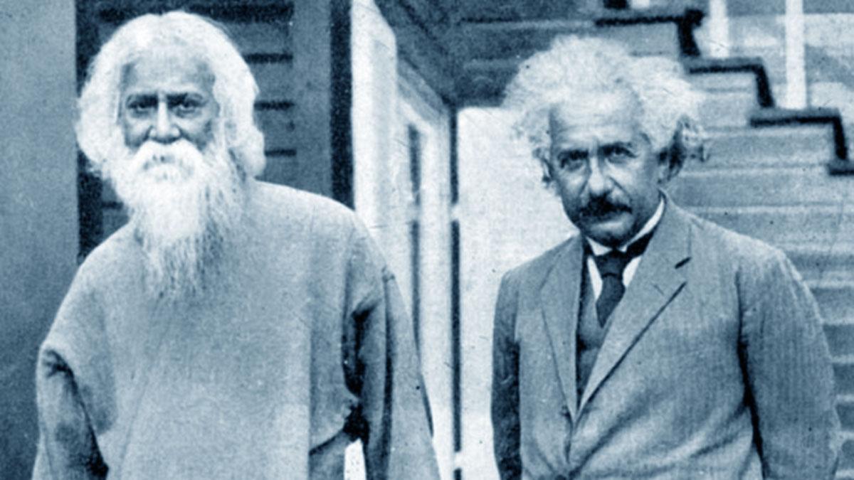 Tagore con Einstein