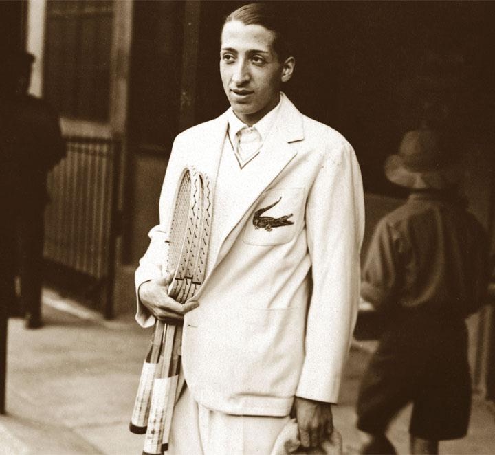 Biografia di ren lacoste for Stilista francese famoso