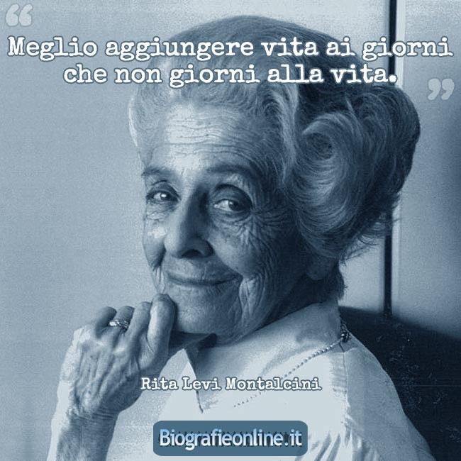 Ben noto Rita Levi Montalcini • Rare sono le persone che usano la mente  FV73
