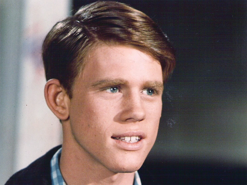 Ron Howard giovane ai tempi di Happy Days