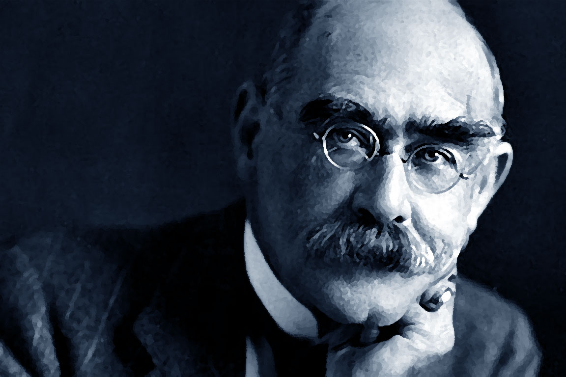 Foto di Rudyard Kipling