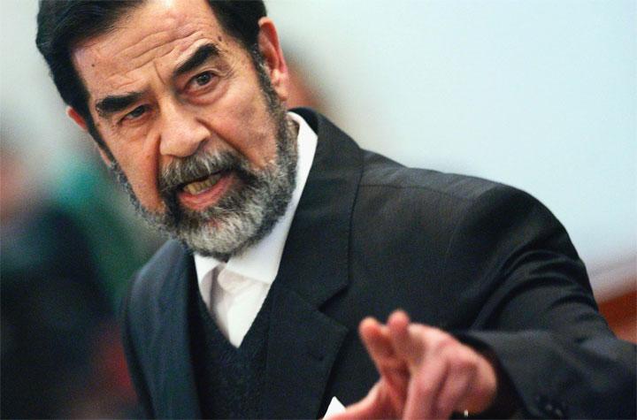 Foto di Saddam Hussein