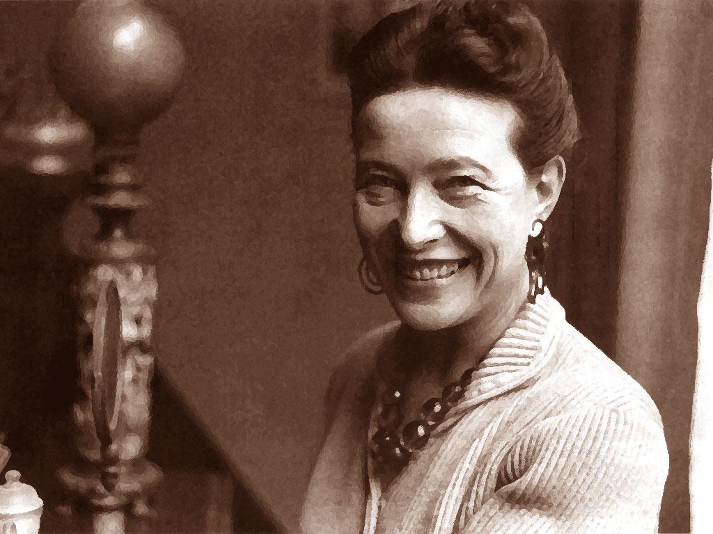 Foto di Simone de Beauvoir
