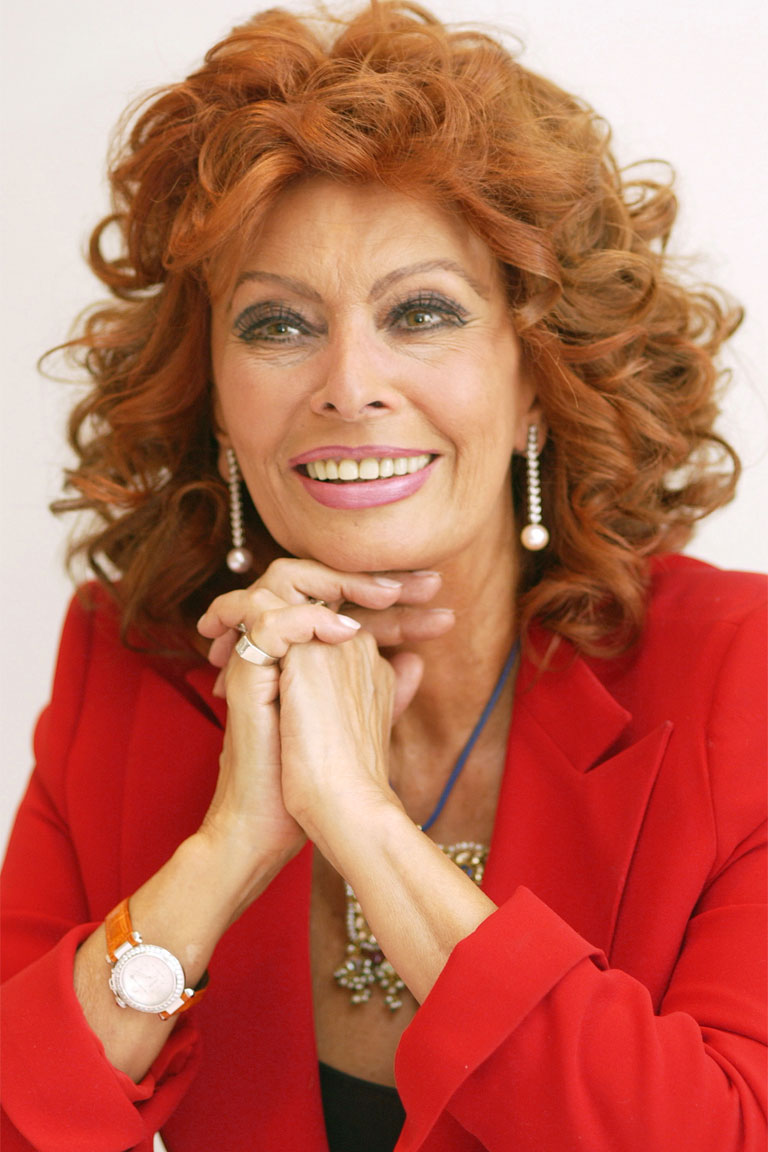 Biografia di sophia loren - Tutte le ragazze di diva futura ...