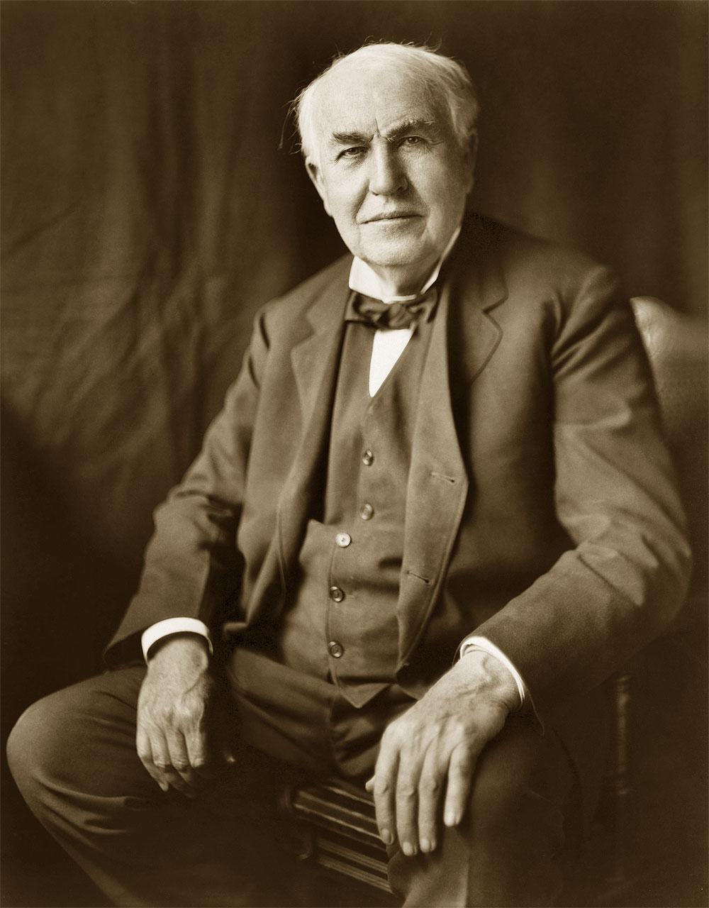 inventore della lampadina : Biografia di Thomas Alva Edison