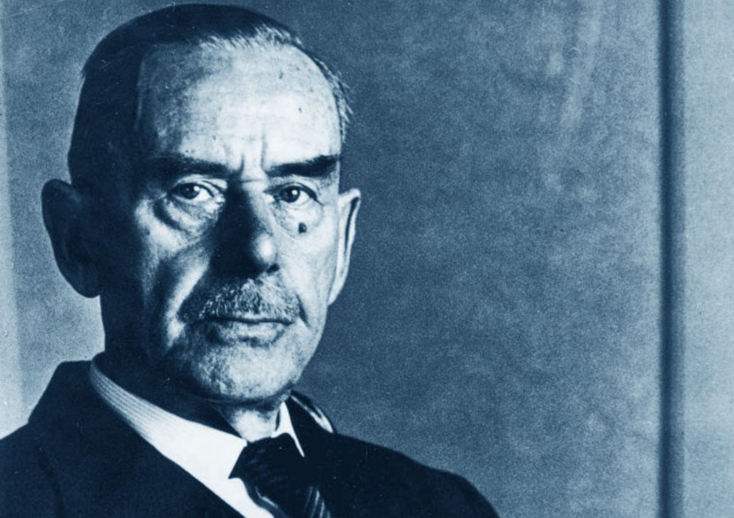 Una foto di Thomas Mann