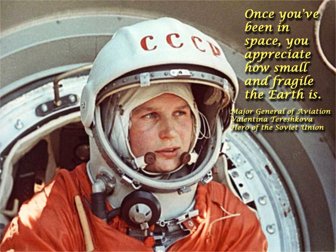 Biografia Di Valentina Tereshkova