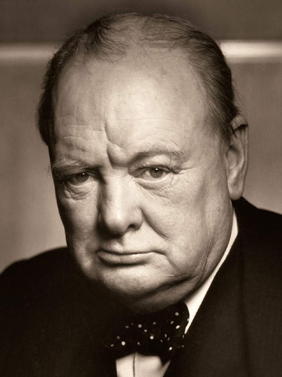 Winston Churchill fotografato da Yousuf_Karsh