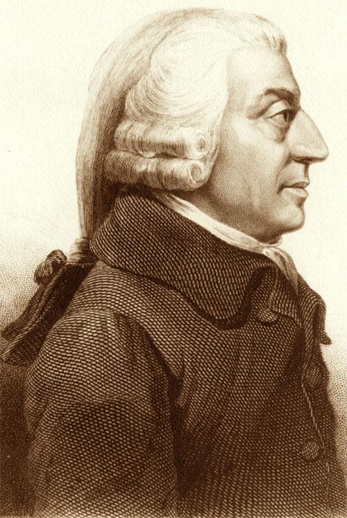 Foto media di Adam Smith