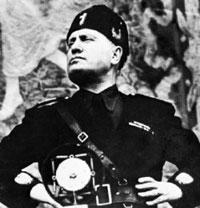 Il Duce, Benito Mussolini