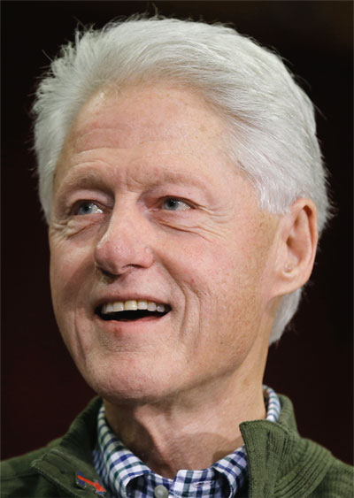 Foto media di Bill Clinton