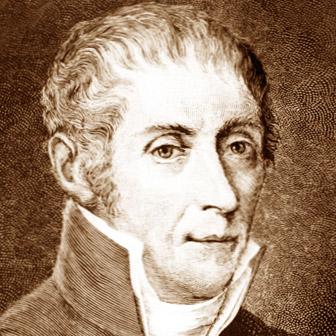 Foto quadrata di Alessandro Volta