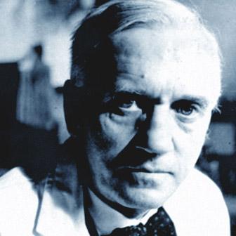 Foto quadrata di Alexander Fleming