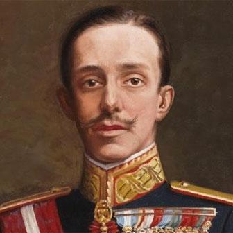Foto quadrata di Alfonso XIII di Spagna