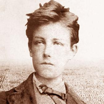 Foto quadrata di Arthur Rimbaud